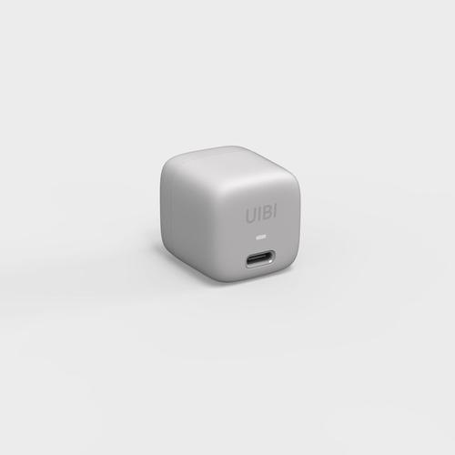 OneMore|UIBI 18W 超迷你PD快充充電器 - 山脈灰