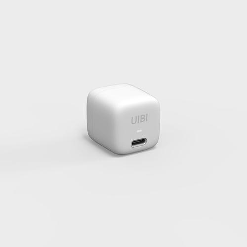 OneMore|UIBI 18W 超迷你PD快充充電器 - 溫莎白