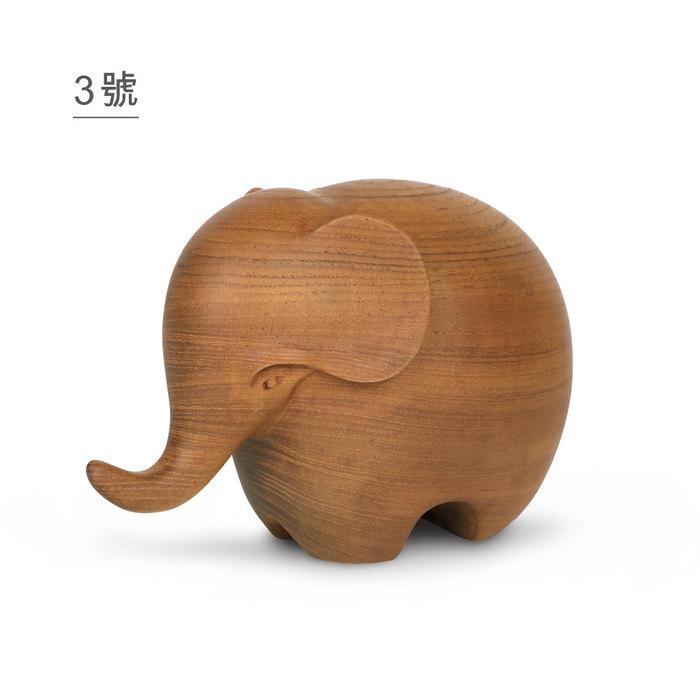 KD| 木製家飾 哈第(小, 3號)