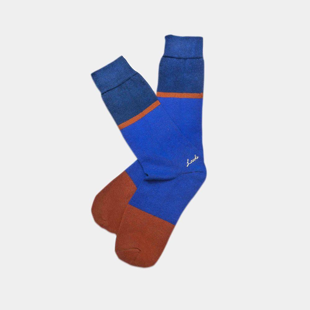 Leeds weather|四季襪款 Polygiene®消臭抑菌襪  / 午夜藍 克萊茵藍 雙色