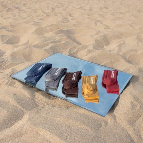 Leeds weather|機能美學羅紋襪 Polygiene®乾燥感.消臭抑菌 / 單寧藍 / 23-28cm