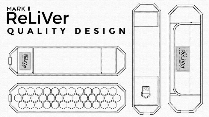 Buron|Reliver Mark II 懸浮反重力背帶【雙背款】