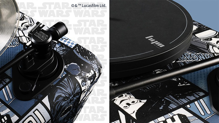 HYM Seed黑膠智慧音響-Star Wars星際大戰系列