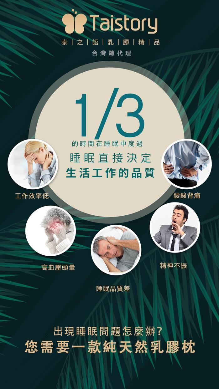 泰之語 Taistory|Natural Latex Pillow 高低波浪舒眠枕-成人款-TS002