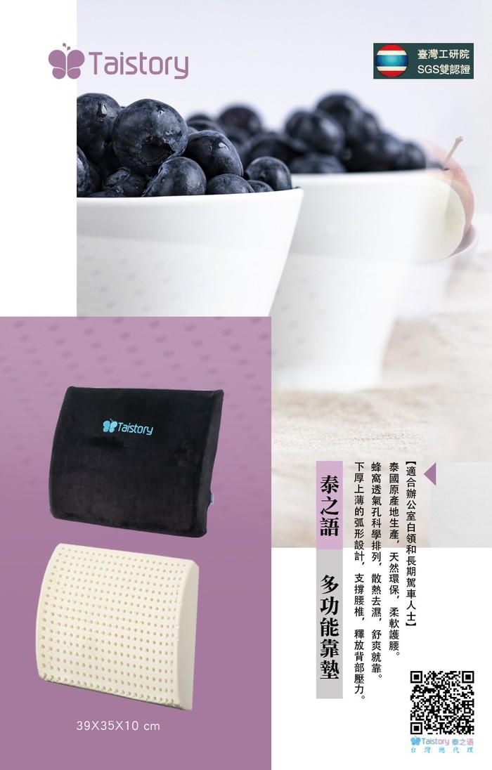 泰之語 Taistory|Natural Latex Pillow 乳膠汽車靠墊-TS013