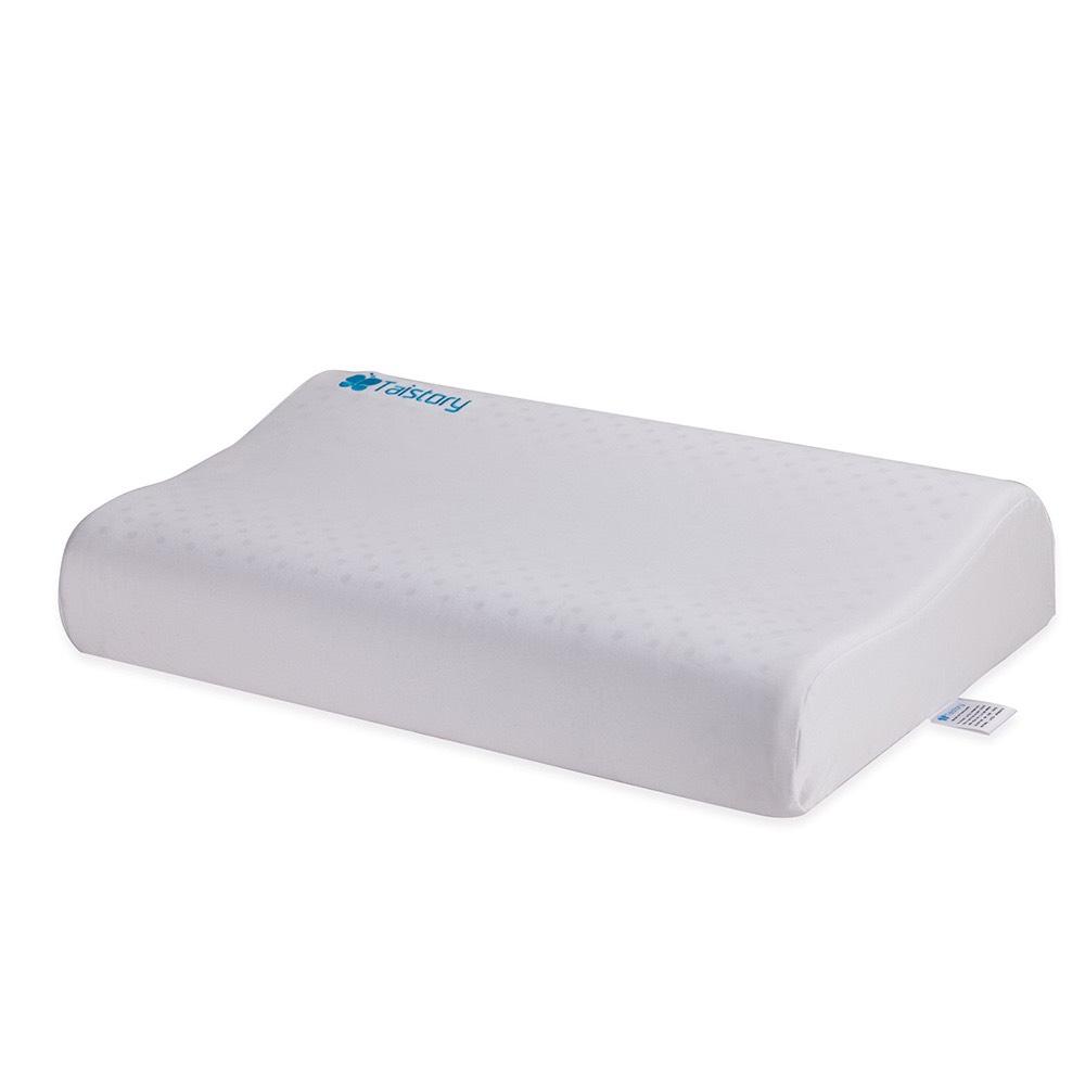 泰之語 Taistory Natural Latex Pillow 高低波浪舒眠枕(矮款)-成人款-TS004