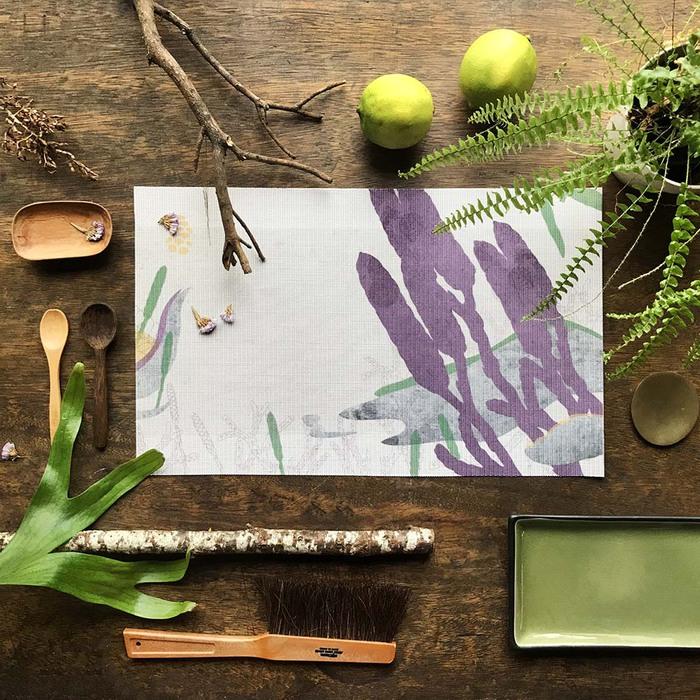 (複製)FERN ONLY|蕨類風景餐桌墊-臺灣原始觀音座蓮