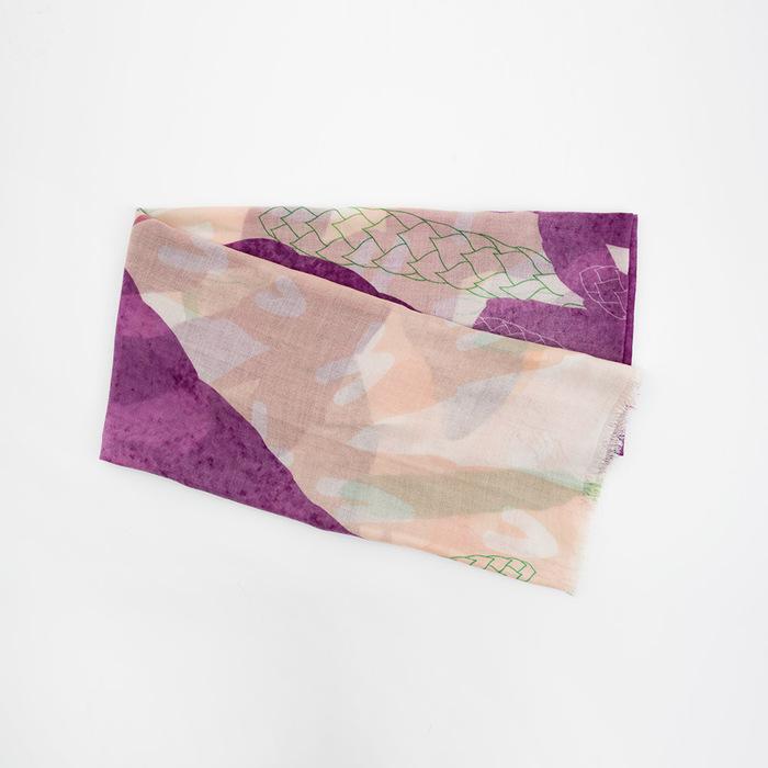 FERN ONLY|BANNIES' x FERN ONLY 蕨美聯名圍巾-玉山地刷子