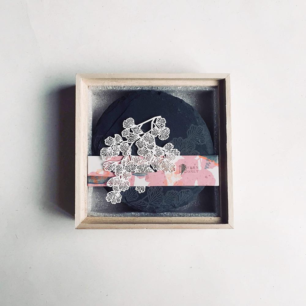 FERN ONLY|蕨類化石石皿-鐵線蕨