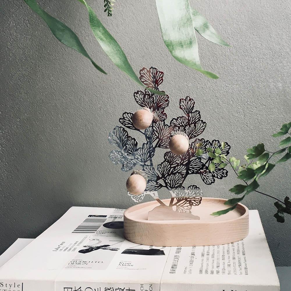 FERN ONLY|蕨對置物掛架-鐵線蕨