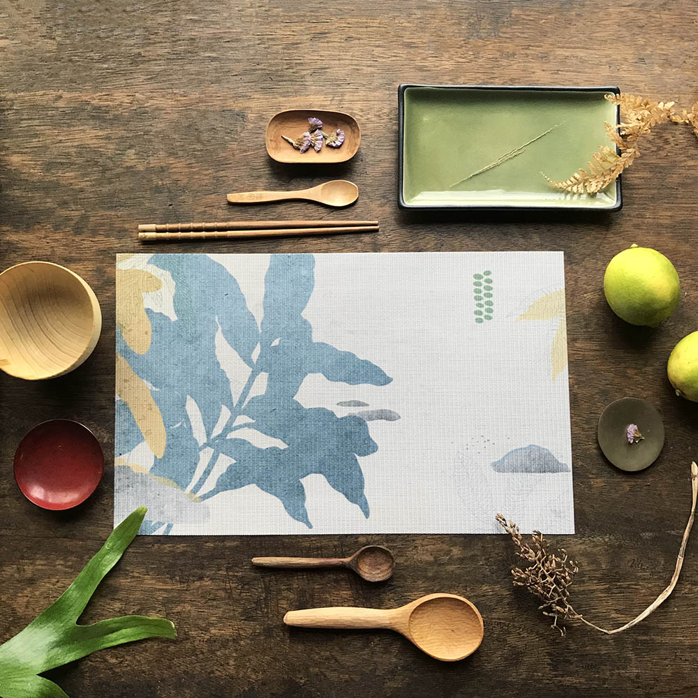 FERN ONLY|蕨類風景餐桌墊-臺灣原始觀音座蓮