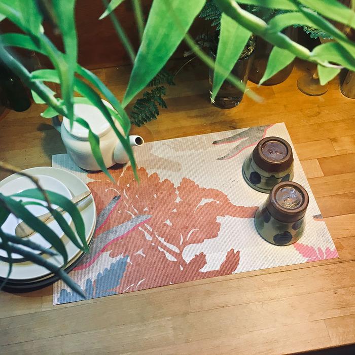(複製)FERN ONLY|蕨類風景餐桌墊-生根卷柏