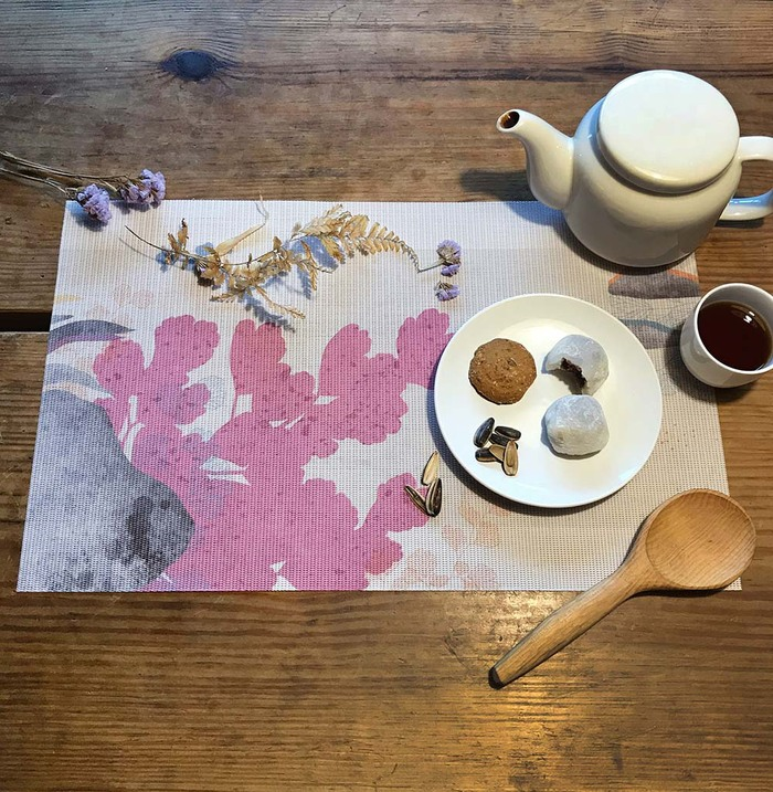 (複製)FERN ONLY|蕨類風景餐桌墊-海金沙