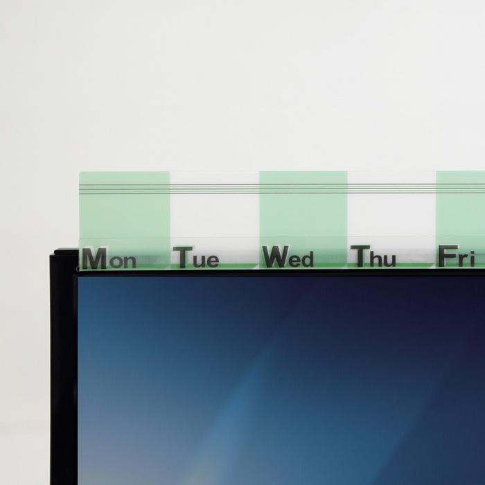 OSHI | 螢幕備忘版-立體綠