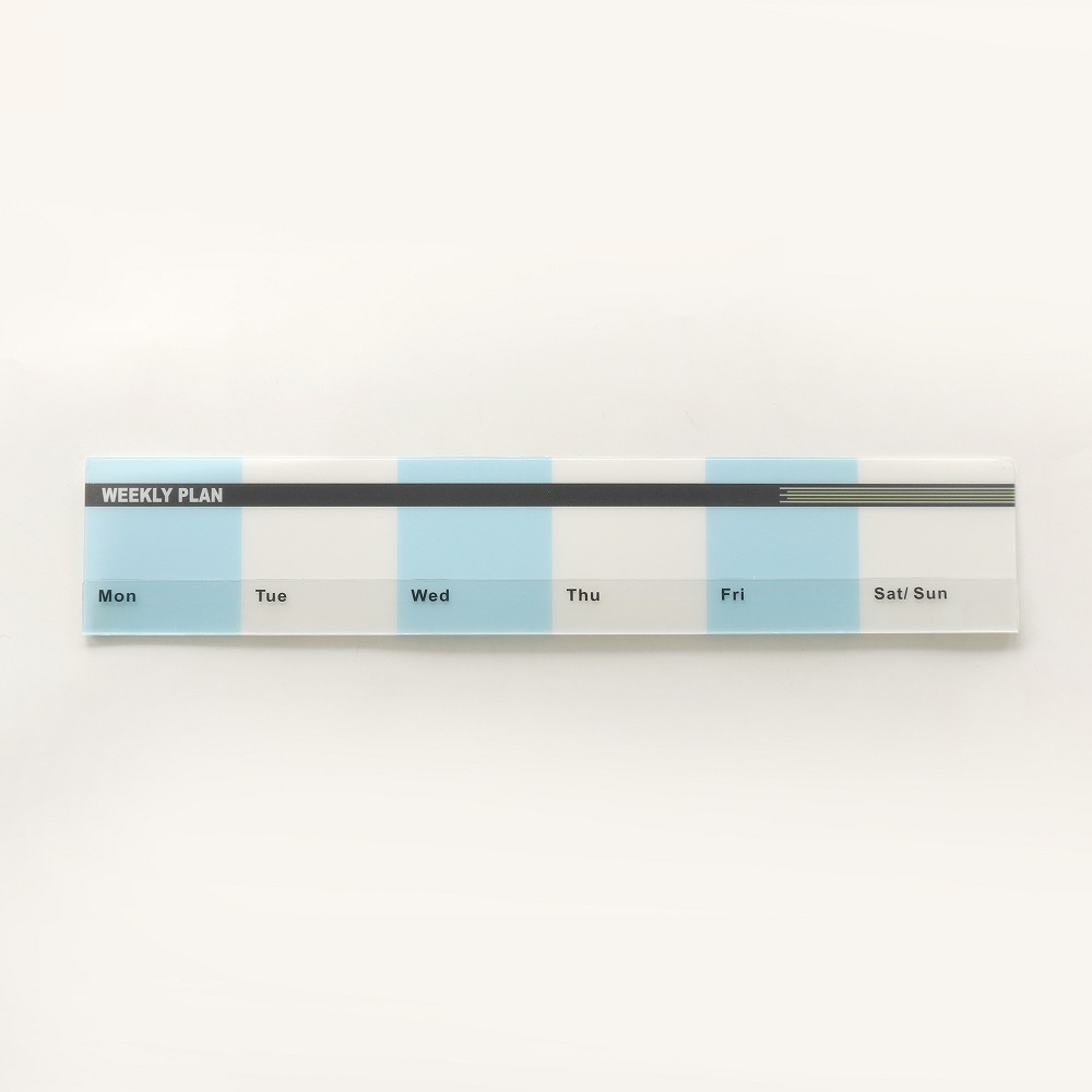 OSHI | 螢幕備忘版-週計畫藍