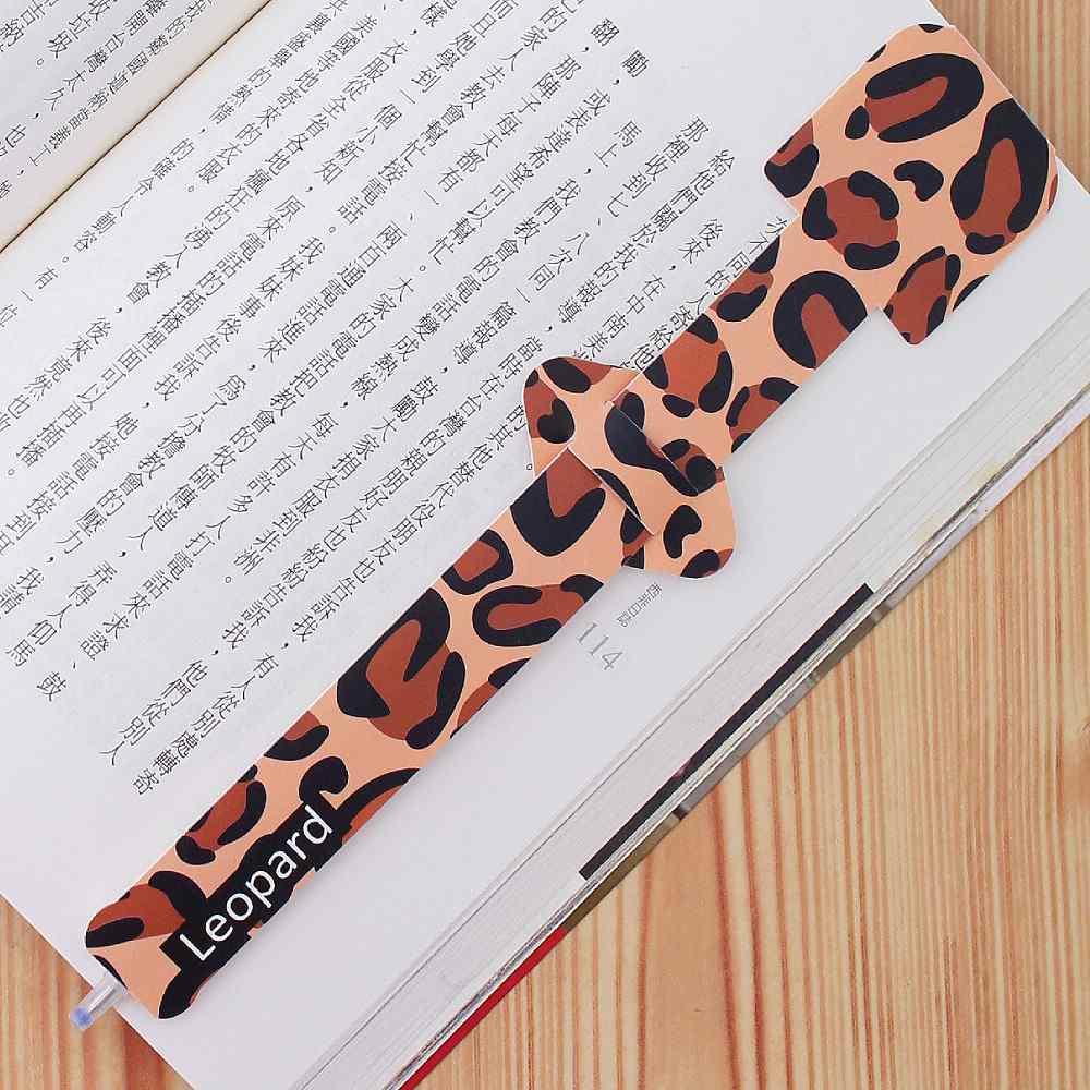 OSHI | 指標書籤筆-豹紋