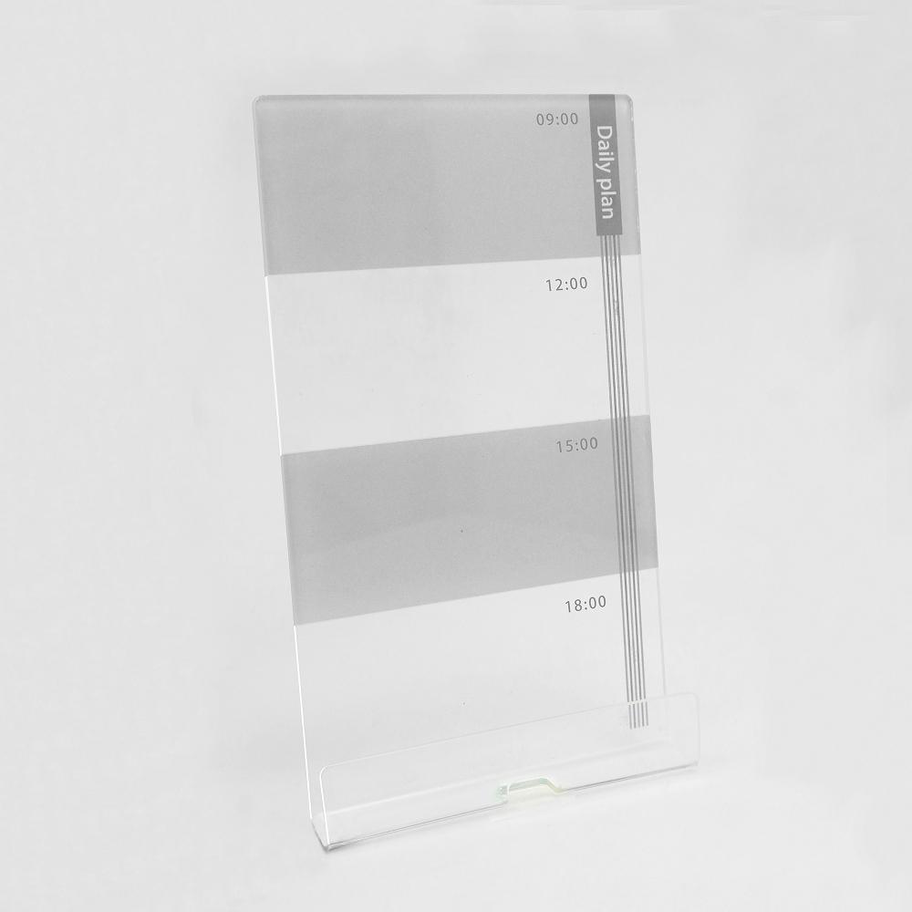 OSHI | 電腦螢幕側邊留言板-日計畫(灰)