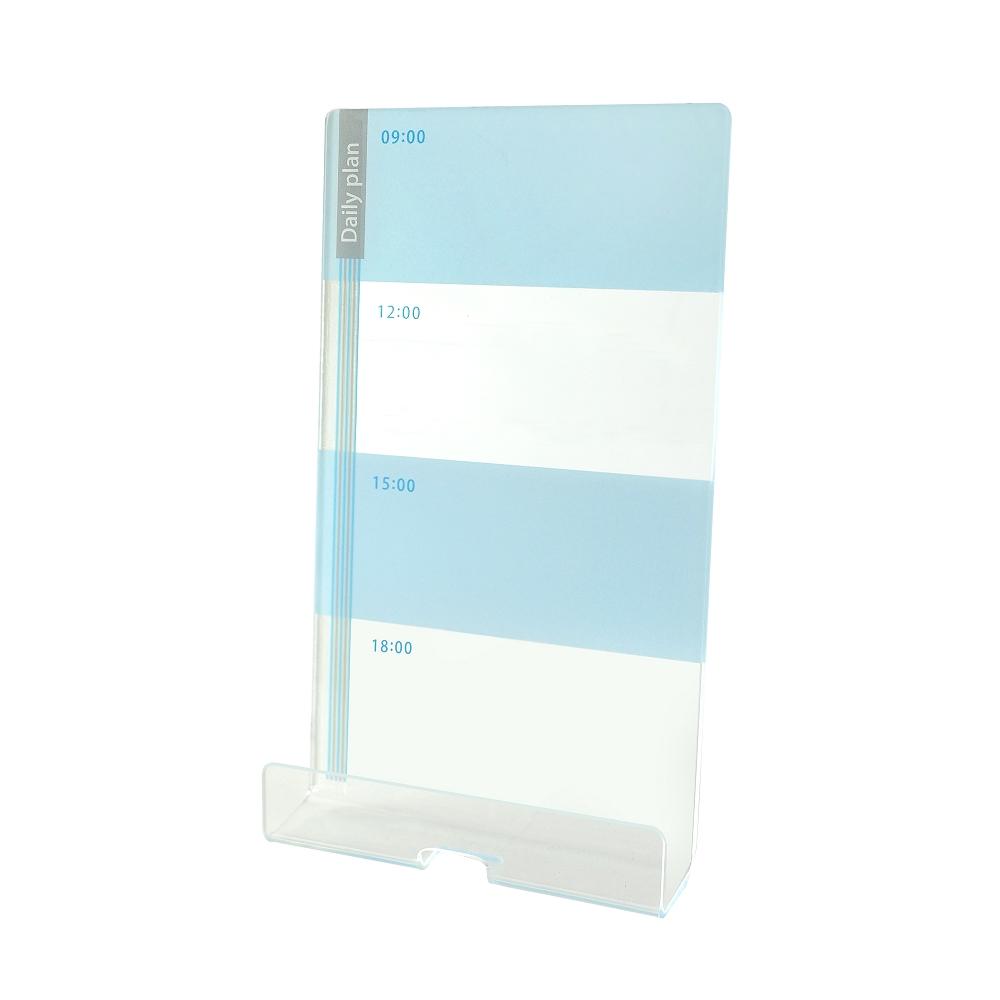 OSHI | 電腦螢幕側邊留言板-日計劃(藍)
