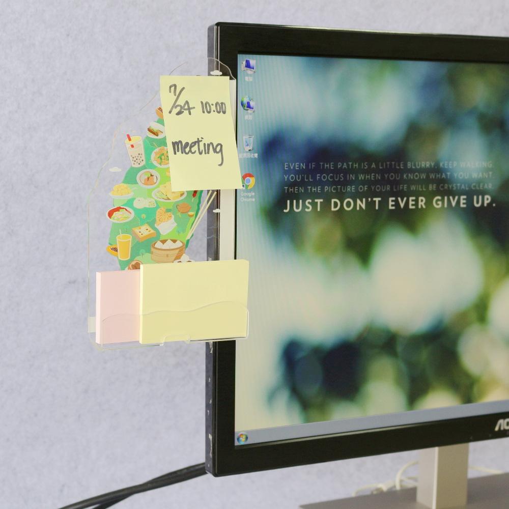 OSHI | 電腦螢幕側邊留言板-台灣吃透透