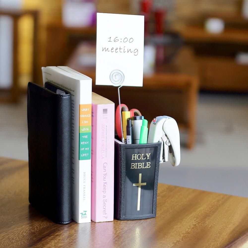 OSHI 聖經筆筒-附留言夾(2入組)