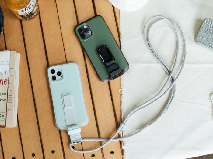 bitplay|iPhone 12/12 Pro-WanderCase 探險家全配套組(風格掛繩)-綠