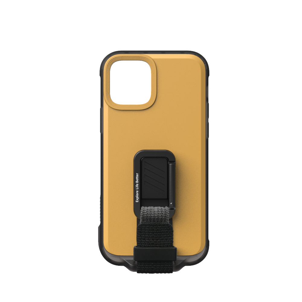 bitplay | iPhone 12/12Pro (6.1) | WanderCase立扣殼-黃