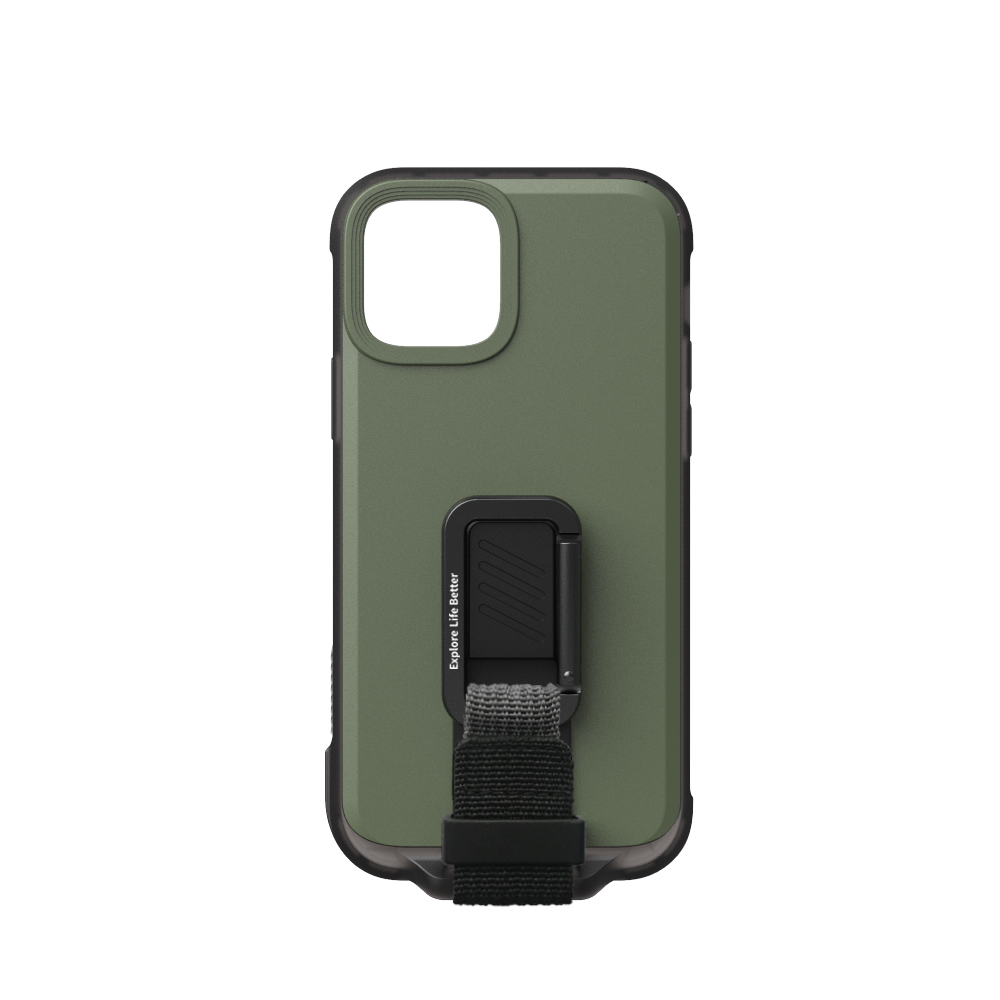 bitplay   iPhone 12 Mini (5.4)   WanderCase立扣殼-綠