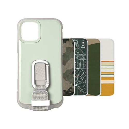 bitplay iPhone 12&12 Pro-WanderCase 經典背蓋套組-淺綠