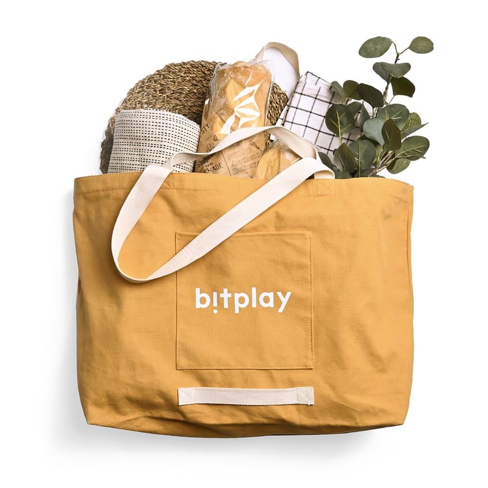 bitplay|超大容量托特包 卡其棕