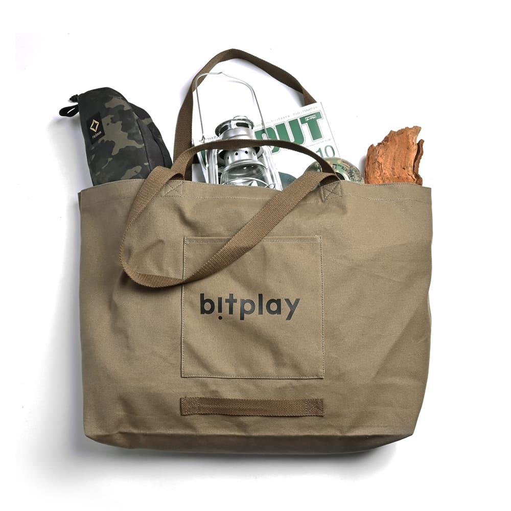 bitplay|超大容量托特包 橄欖綠