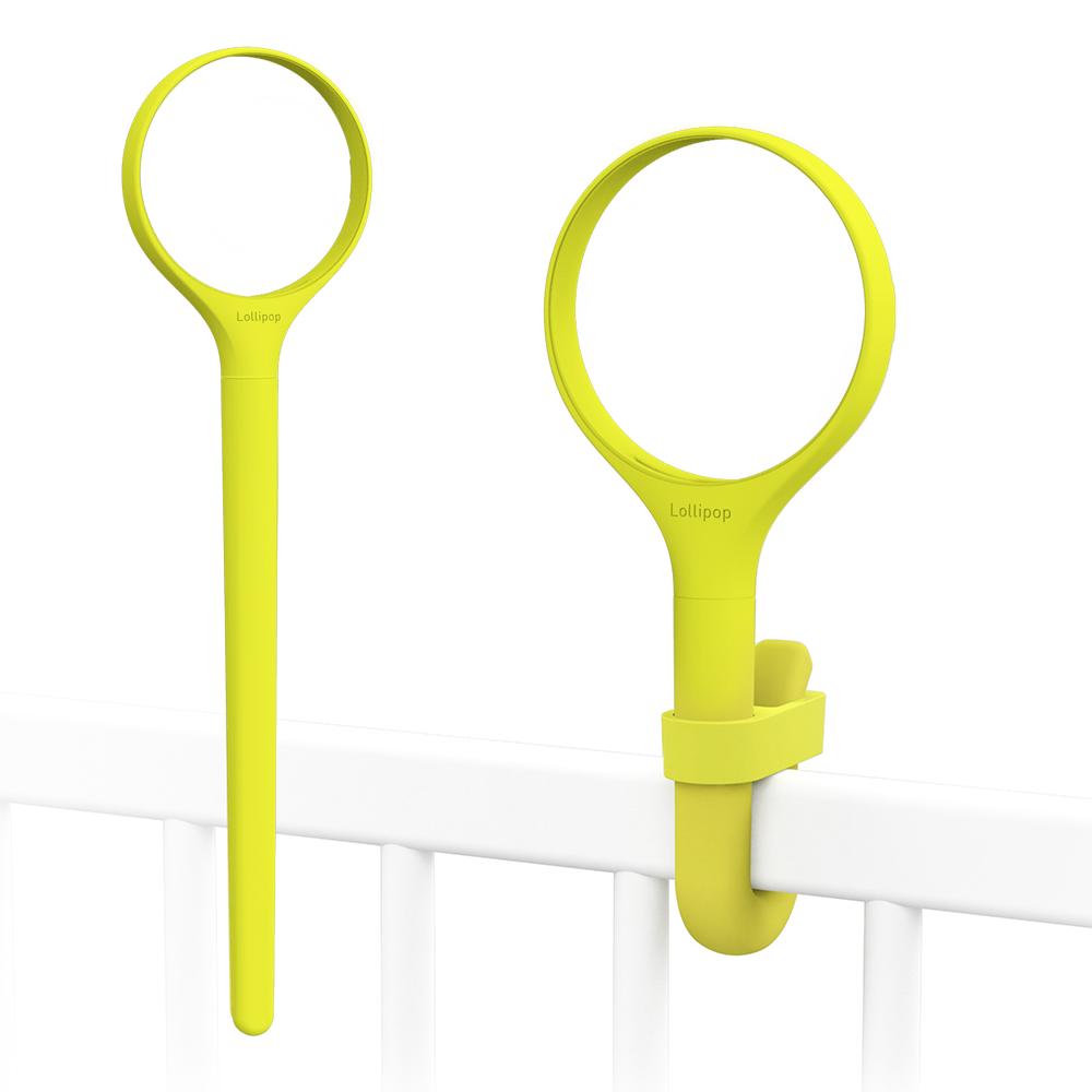 Lollipop|Lollipop換色矽膠環柄組20cm(開心果黃)
