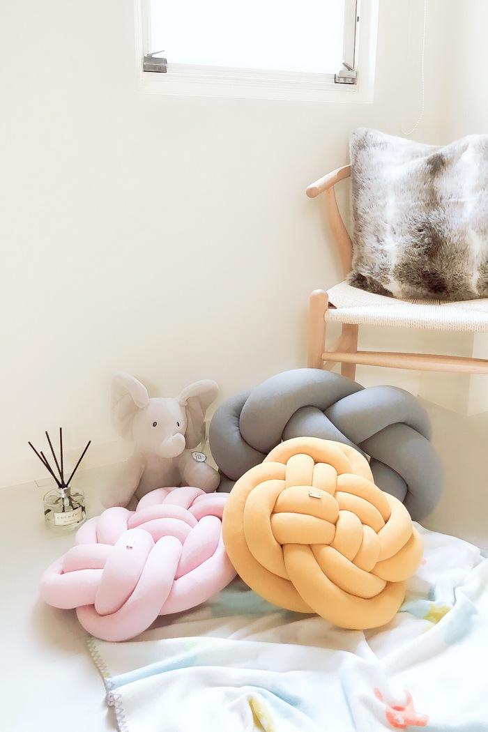 (複製)Wood'n'Wool|波蘭纏繞抱枕 - 經典款(質感灰)
