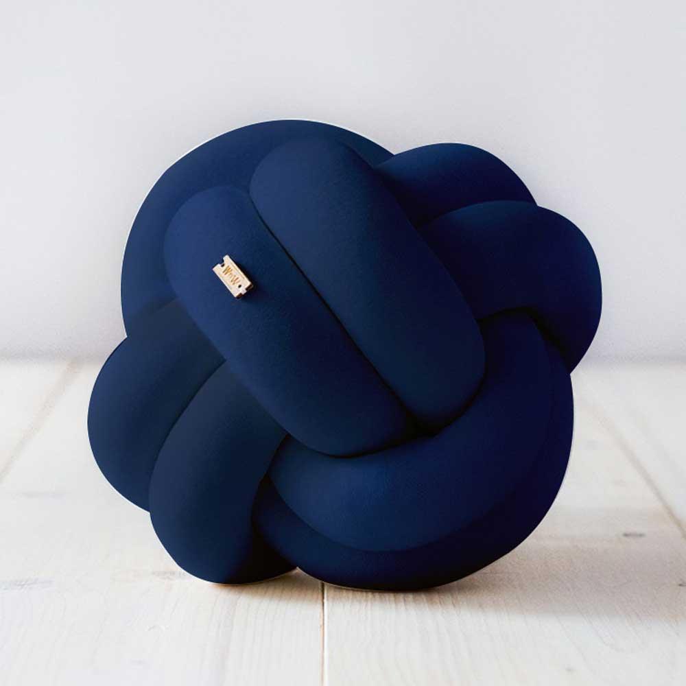 Wood'n'Wool|波蘭纏繞小球 - 海軍藍