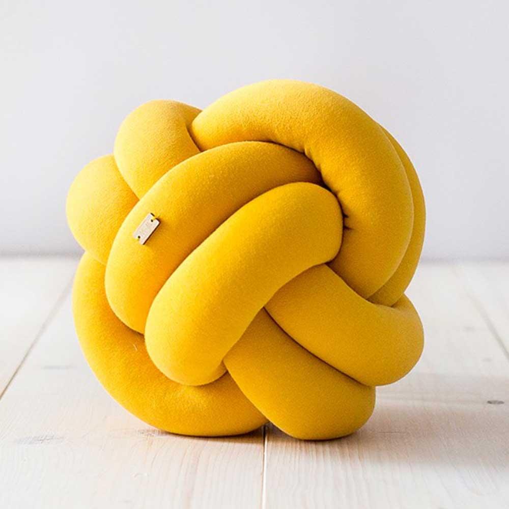 Wood'n'Wool|波蘭纏繞小球 - 芒果黃