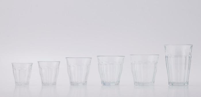 Duralex|法國強化玻璃杯Picardie(500ml / 6入組 / 透明)