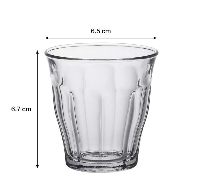 (複製)Duralex 法國強化玻璃杯Picardie(160ml / 6入組 / 透明)
