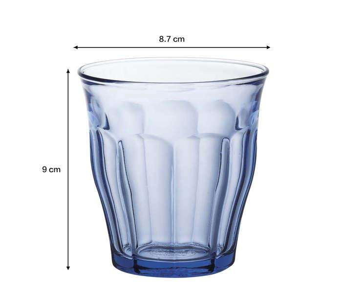 (複製)Duralex|法國強化玻璃杯Picardie(220ml / 6入組 / 海水藍)
