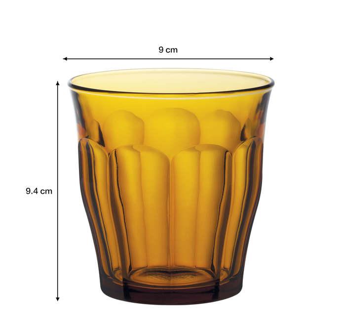(複製)Duralex|法國強化玻璃杯Picardie(250ml / 6入組 / 琥珀色)