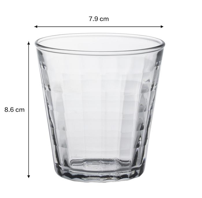 (複製)Duralex 法國強化玻璃杯Prisme(170ml / 6入組 / 海水藍)