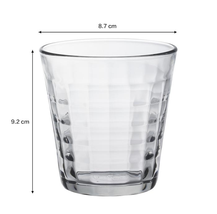 (複製)Duralex|法國強化玻璃杯Prisme(220ml / 6入組 / 透明)