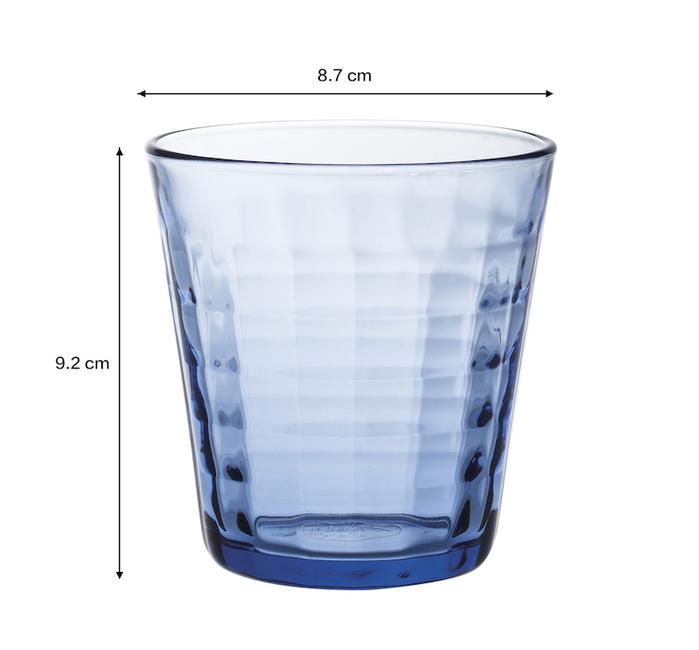 (複製)Duralex|法國強化玻璃杯Prisme(220ml / 4入組 / 海水藍)