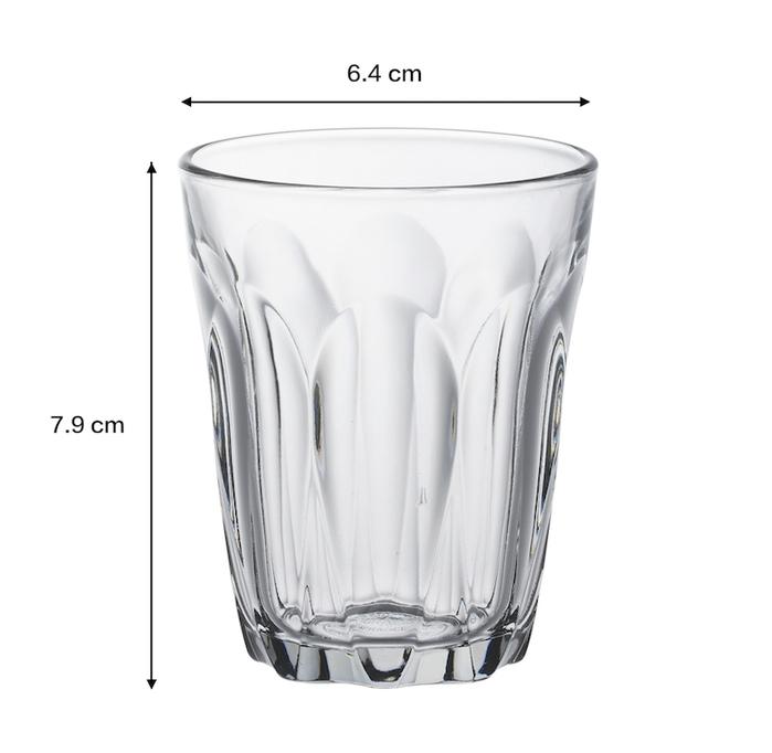 (複製)Duralex|法國強化玻璃杯Prisme(275ml / 4入組 / 海水藍)