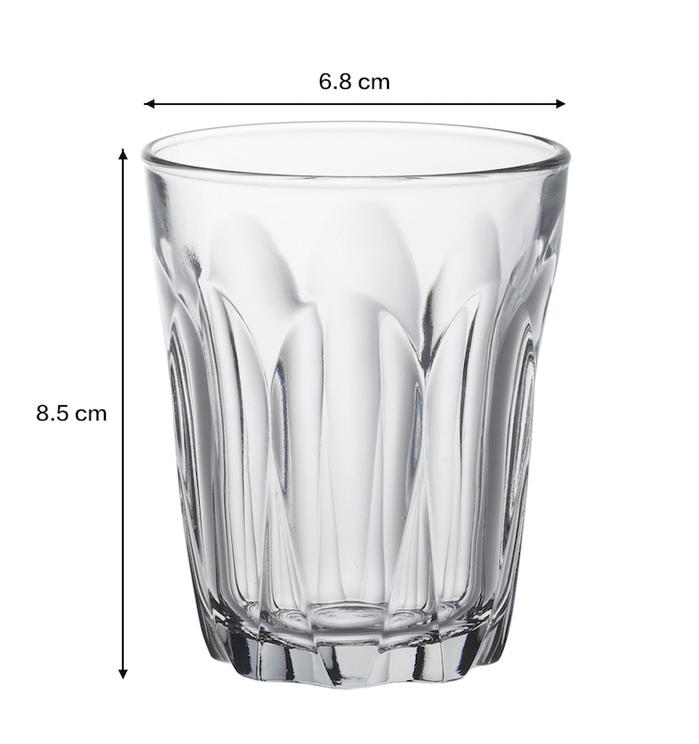 (複製)Duralex|法國強化玻璃杯Provence(90ml / 6入組 / 透明)