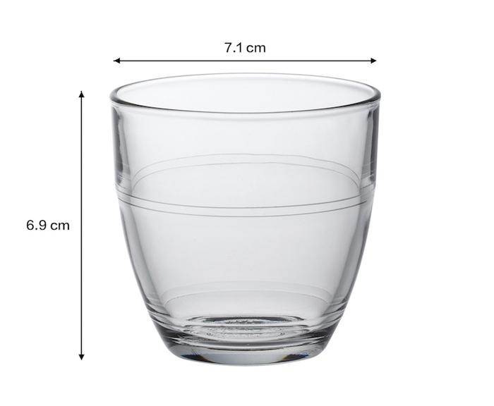 (複製)Duralex|法國強化玻璃杯Gigogne(220ml / 6入組 / 透明)