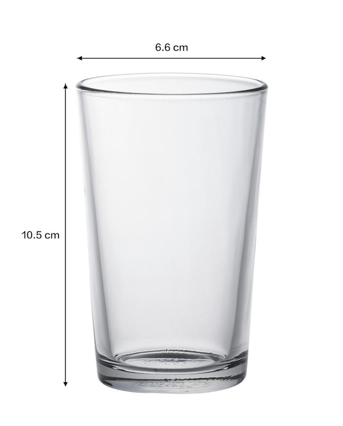(複製)Duralex|法國強化玻璃杯Lys(280ml / 6入組 / 琥珀色)