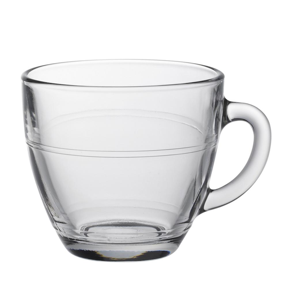 Duralex|法國強化玻璃咖啡杯Gigogne(220ml / 6入組 / 透明)