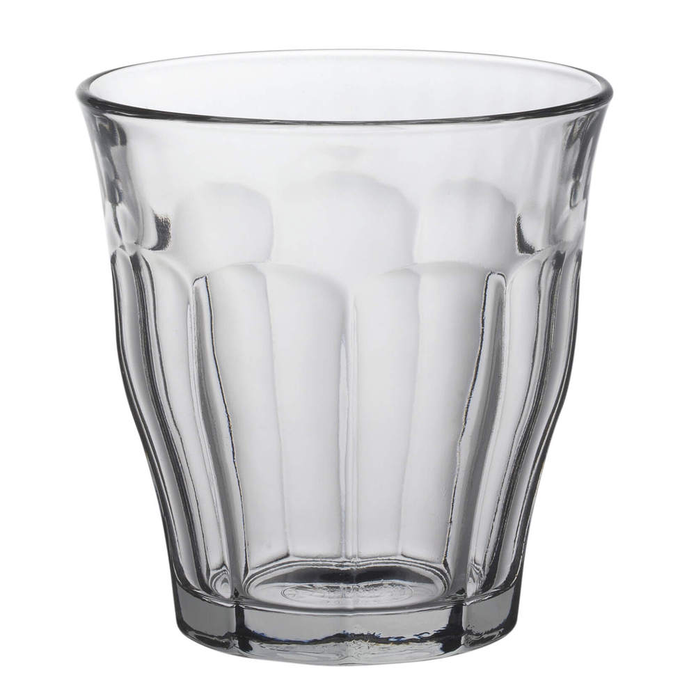 Duralex|法國強化玻璃杯Picardie(310ml / 6入組 / 透明)