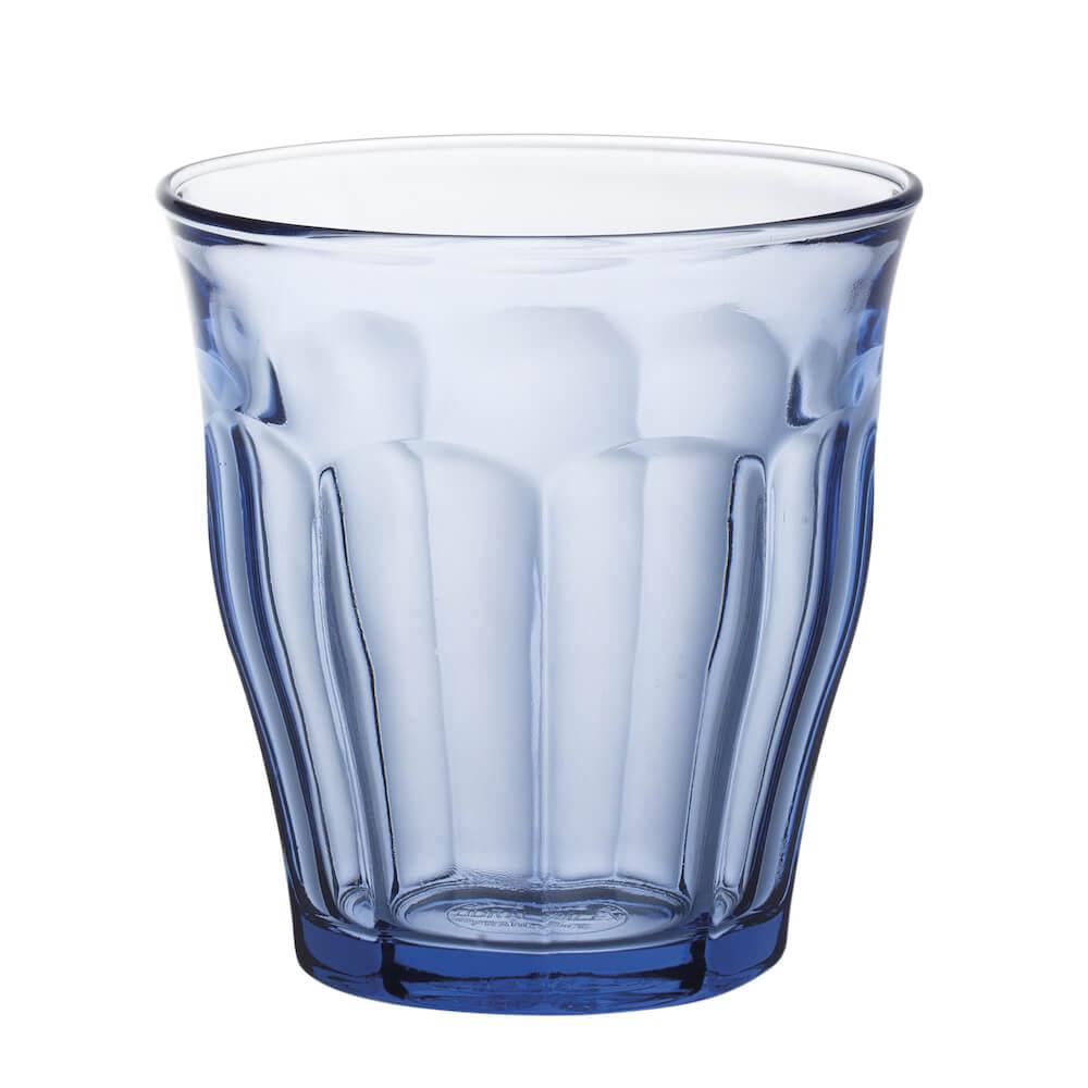 Duralex|法國強化玻璃杯Picardie(220ml / 6入組 / 海水藍)