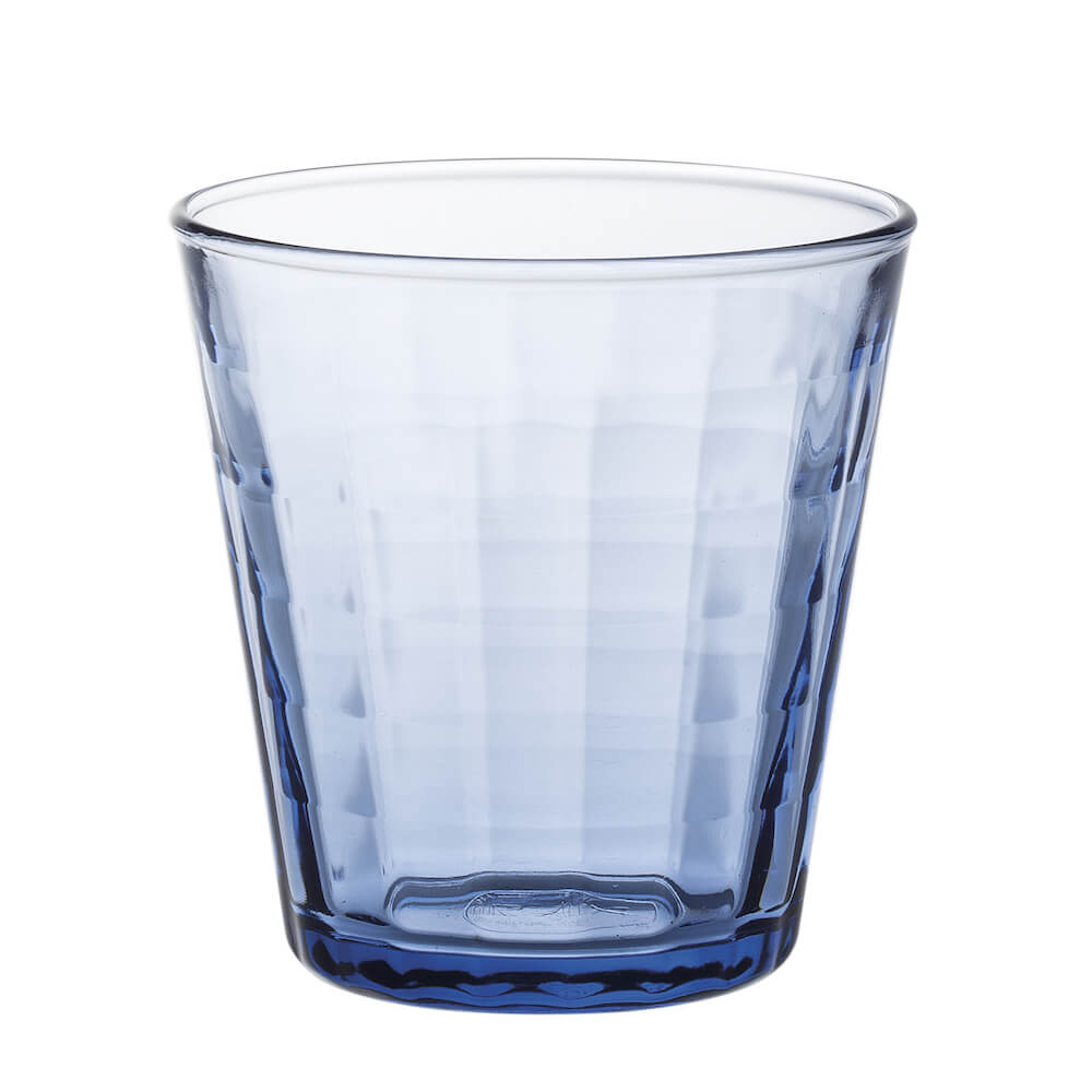 Duralex|法國強化玻璃杯Prisme(170ml / 6入組 / 海水藍)