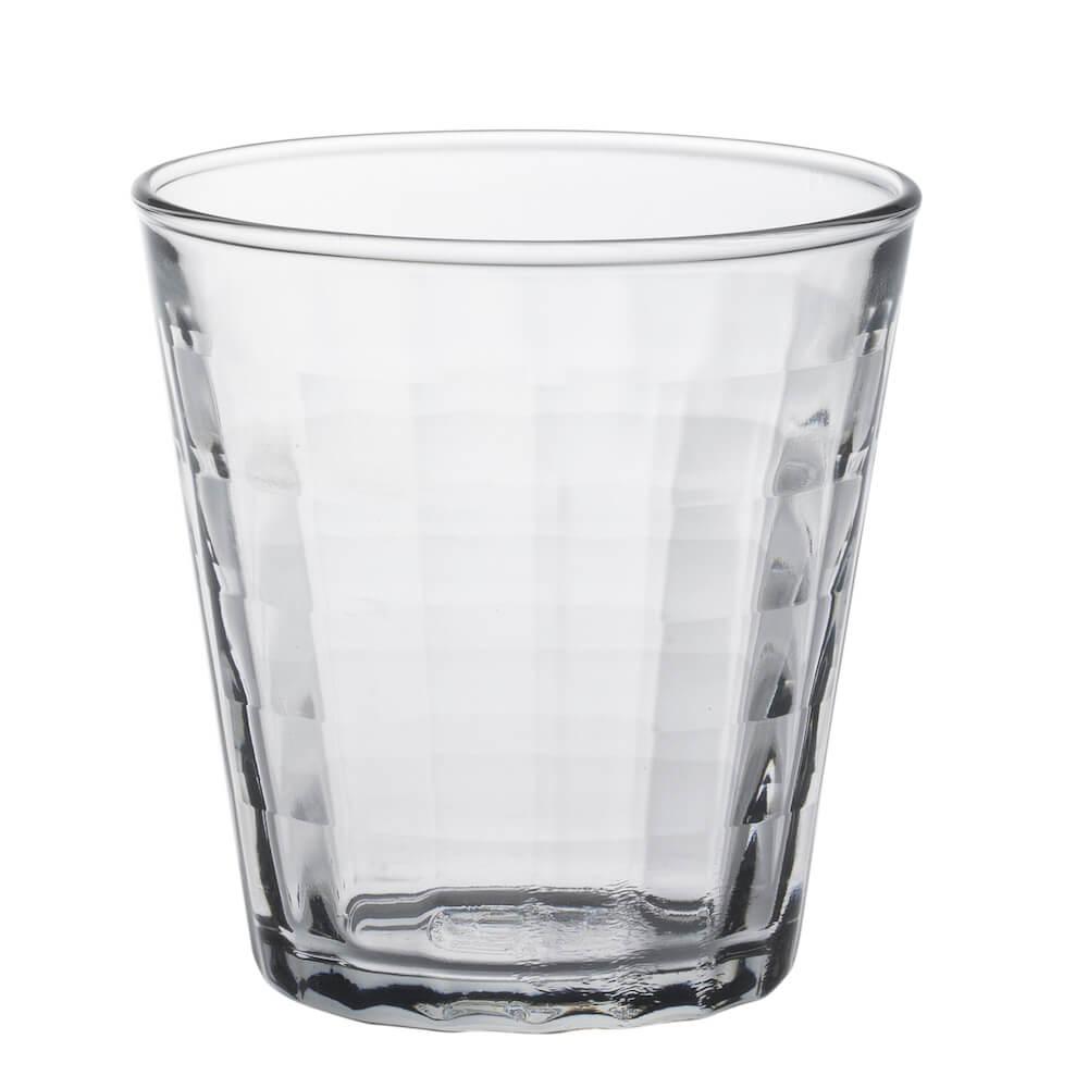 Duralex|法國強化玻璃杯Prisme(220ml / 6入組 / 透明)